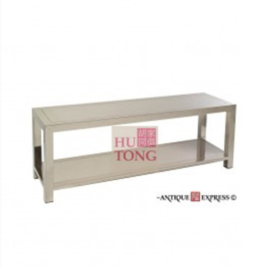 Long Bench With Low Shelve