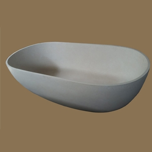 Solid State ,Resin Terrazo BathTub